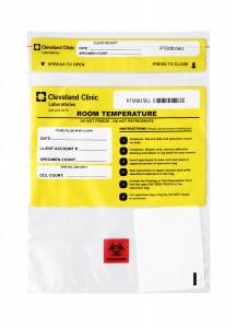 Room Temperature Specimen Bag