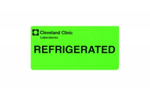 Refrigerated Label