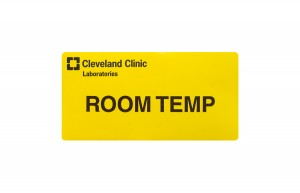Room Temperature Label