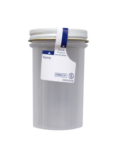urine container sterile