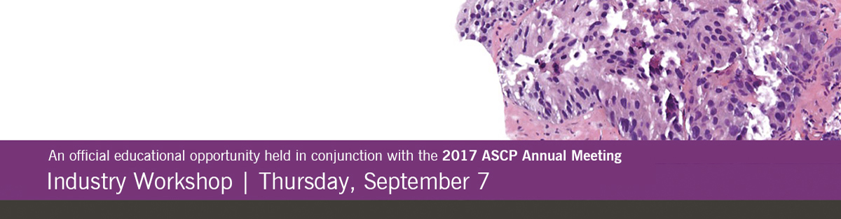 Cleveland Clinic Laboratories Industry Workshop with Jesse McKenney at ASCP 2017